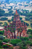 Ancient pagoda in Bagan archaeological zone, Myanmar Stock Images