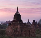 Ancient pagoda in Bagan, Myanmar Royalty Free Stock Photography