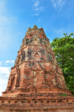 Ancient pagoda with blue sky Royalty Free Stock Photos
