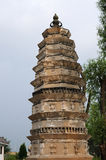 Ancient pagoda in China Royalty Free Stock Image
