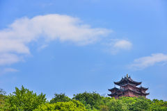 The Ancient pagoda at the famous Hangzhou, China Stock Image