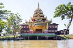 Ancient pagoda at Inle Lake in Myanmar Stock Image