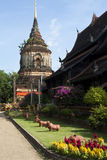 Ancient Pagoda of Lokmolee temple Stock Images