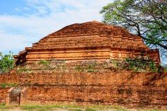 Ancient pagoda. In Phitsanulok Thailand royalty free stock image