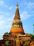Ancient pagoda Royalty Free Stock Photo