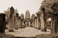 Ancient pagoda. In sukhothai Thailand Royalty Free Stock Photography