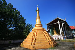 Ancient Pagoda at Temple Royalty Free Stock Photography
