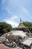 Ancient pagoda in Thailand Stock Photo