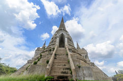 Ancient Pagoda at Thailand Stock Photography