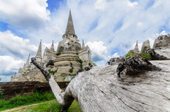 Ancient Pagoda at Thailand Stock Photos