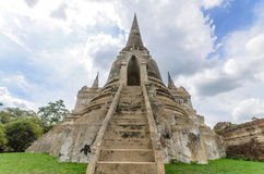 Ancient Pagoda at Thailand Royalty Free Stock Image