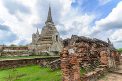 Ancient Pagoda at Thailand Royalty Free Stock Photos