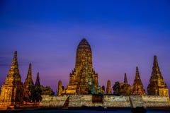 Ancient Pagoda in Twilight Royalty Free Stock Photo