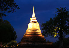 Ancient pagoda at twilight Royalty Free Stock Image