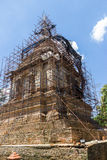 The ancient pagoda is under renovation Royalty Free Stock Photos