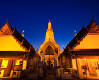 Ancient pagoda at Wat Arun Royalty Free Stock Photography