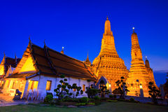 Ancient pagoda at Wat Arun Stock Photography