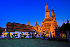 Ancient pagoda at Wat Arun Royalty Free Stock Photo