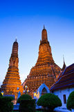 Ancient pagoda at Wat Arun Royalty Free Stock Image