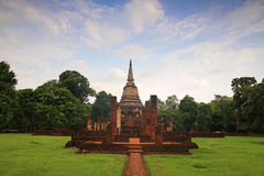 Ancient pagoda at Wat Chang Lom, Sukhothai Stock Images