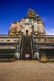 Ancient pagoda at Wat Chedi Luang Royalty Free Stock Photography