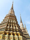 Ancient pagoda in Wat Pho, Bangkok, Thailand Stock Photos