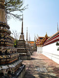 Ancient pagoda at Wat Pho, Bangkok, Thailand Stock Photography