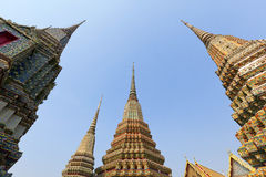 Ancient Pagoda at Wat Pho Stock Photos
