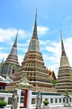 Ancient Pagoda at Wat Pho, Thailand Royalty Free Stock Photography