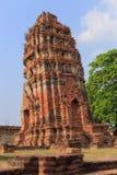 Ancient pagoda. At Wat Phra that,Ayutthaya, Thailand Stock Photos
