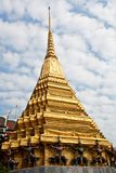 Ancient pagoda at Wat Phra Kaew in Bangkok Stock Photo