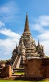 Ancient Pagoda. Pagoda at wat phra sri sanphet temple, Ayutthaya, Thailand Stock Photos