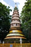 Ancient pagoda Wat Rampoeng Royalty Free Stock Images