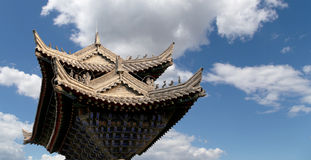 Ancient Pagoda--  Xian (Sian, Xi'an), Shaanxi province, China Royalty Free Stock Image