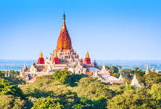 Ancient pagodas in Bagan Stock Photos