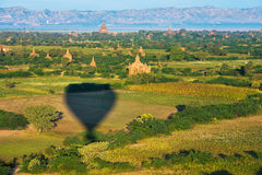 Ancient pagodas in Bagan Royalty Free Stock Photography