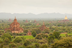 Ancient pagodas in Bagan Mandalay, Myanmar Royalty Free Stock Photo