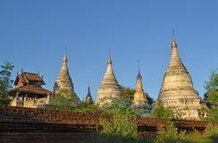 The ancient pagodas. Bagan, Myanmar. Royalty Free Stock Image