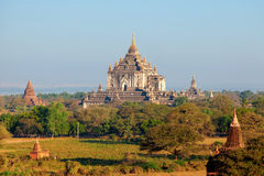 Ancient pagodas in Bagan, Myanmar Stock Photography