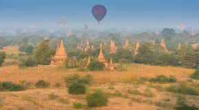 Ancient pagodas and temples in Bagan, Myanmar Stock Photography