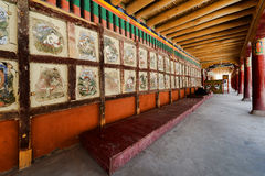 Ancient Paintings in Hemis Royalty Free Stock Photography