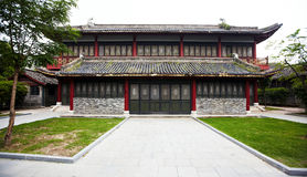 Ancient palace. Ancient chinese palace in hengdian movie center,zhejiang province ,china royalty free stock photography