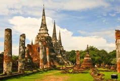 Ancient Palace of Ayutthaya Royalty Free Stock Photo