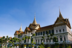 Ancient palace in Bangkok Stock Photo