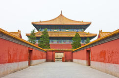 Ancient Palace of China. Ancient palace of Beijing,China.Imperial Ancestral Temple royalty free stock photography