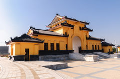 Ancient Palace of China. Ancient Chinese architecture, palace-style architecture royalty free stock photos