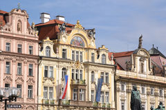 Ancient palace in Prague Royalty Free Stock Image