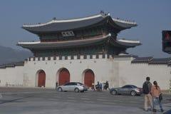 Ancient Palace - Seoul, South Korea, Asia - November 2013 Stock Photography