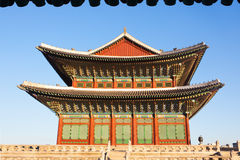 Ancient palace in south korea Royalty Free Stock Images