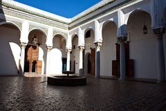 Ancient palace in Tangier Stock Image